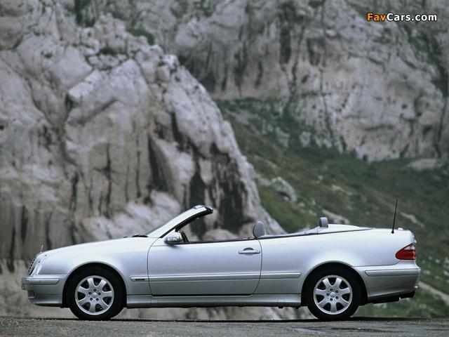 Images of Mercedes-Benz CLK 320 Cabrio (A208) 1998–2002 (640 x 480)