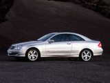Images of Mercedes-Benz CLK 500 (C209) 2002–05