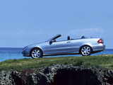 Images of Mercedes-Benz CLK 240 Cabrio UK-spec (A209) 2003–05