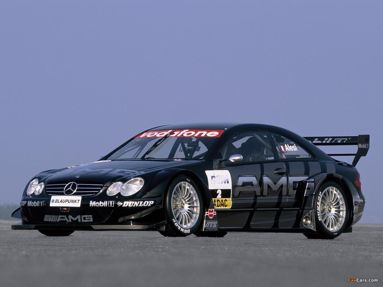 Images of Mercedes-Benz CLK 55 AMG DTM (C209) 2003 (1280 x 960)