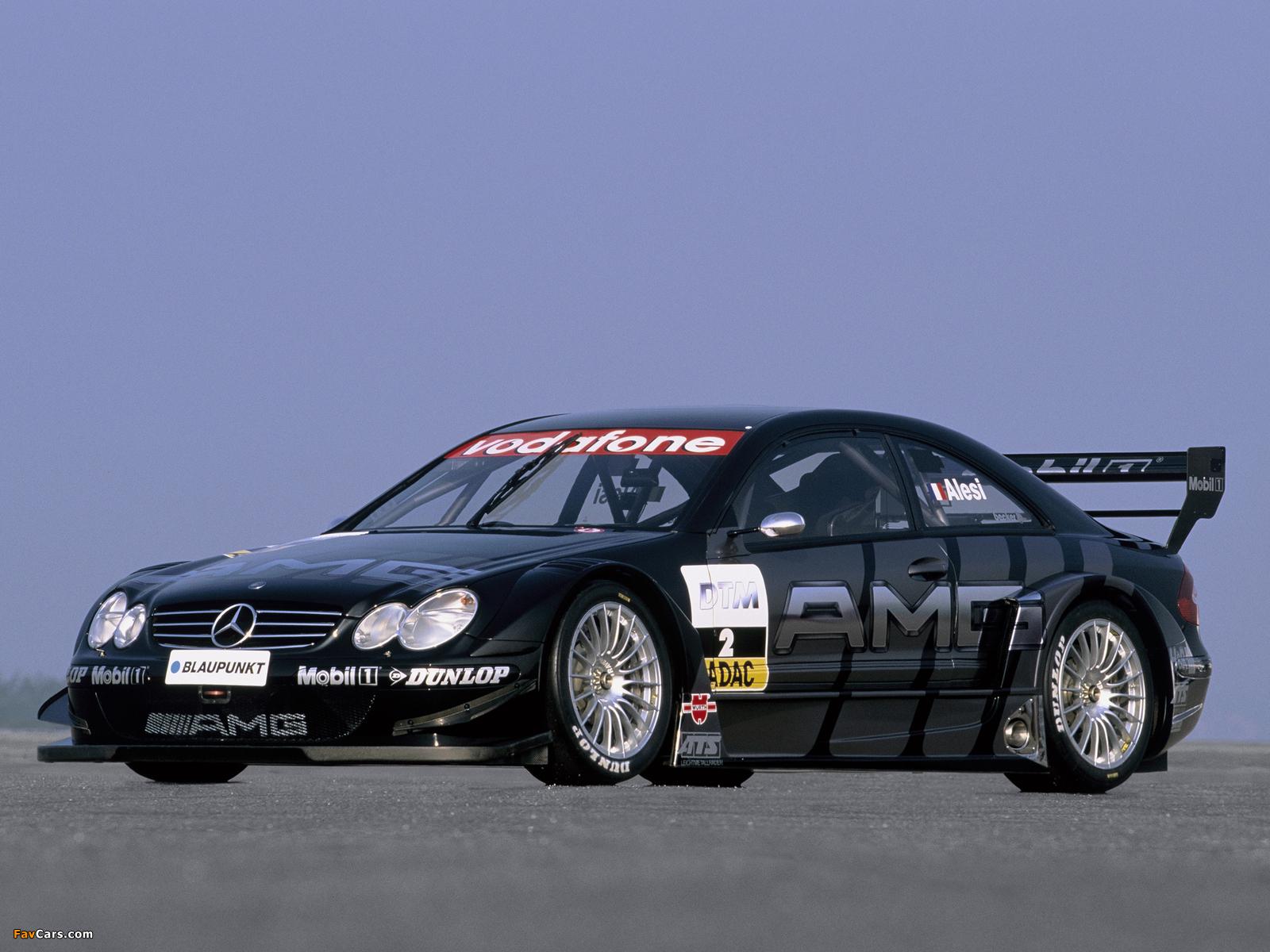 Images of Mercedes-Benz CLK 55 AMG DTM (C209) 2003 (1600 x 1200)