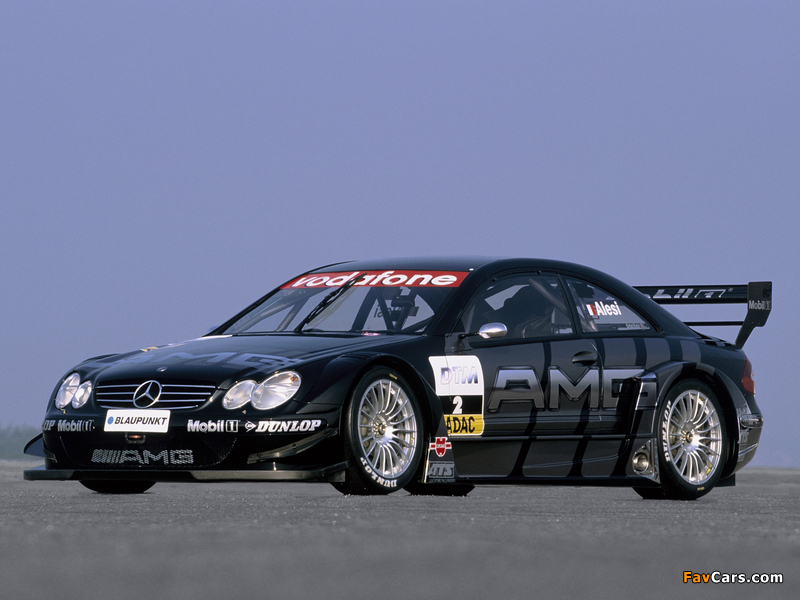 Images of Mercedes-Benz CLK 55 AMG DTM (C209) 2003 (800 x 600)
