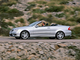 Images of Mercedes-Benz CLK 55 AMG Cabrio (A209) 2003–05