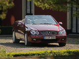 Images of Mercedes-Benz CLK 320 CDI Cabrio (A209) 2005–10