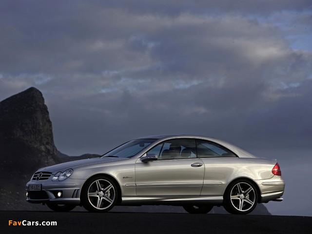 Images of Mercedes-Benz CLK 63 AMG (C209) 2006–09 (640 x 480)