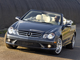 Images of Mercedes-Benz CLK 550 Convertible (A209) 2006–10