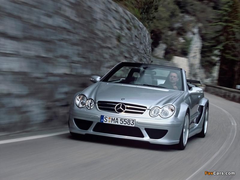 Images of Mercedes-Benz CLK AMG DTM Cabrio (A209) 2006 (800 x 600)