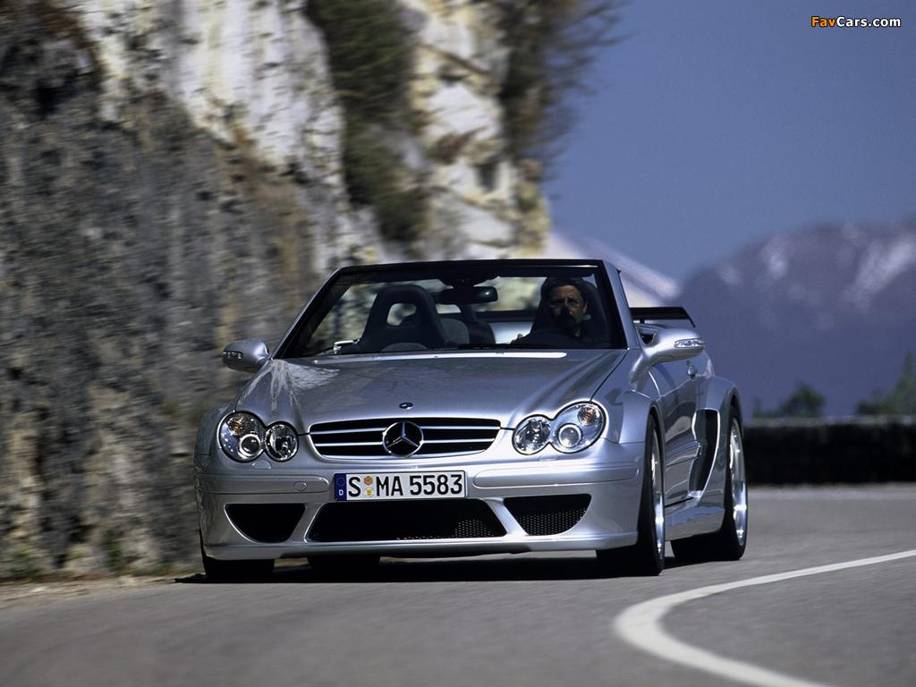 Images of Mercedes-Benz CLK AMG DTM Cabrio (A209) 2006 (1024 x 768)