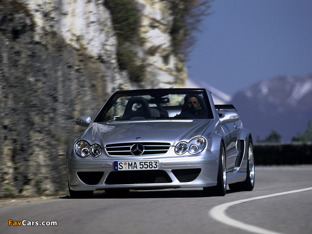 Images of Mercedes-Benz CLK AMG DTM Cabrio (A209) 2006 (640 x 480)