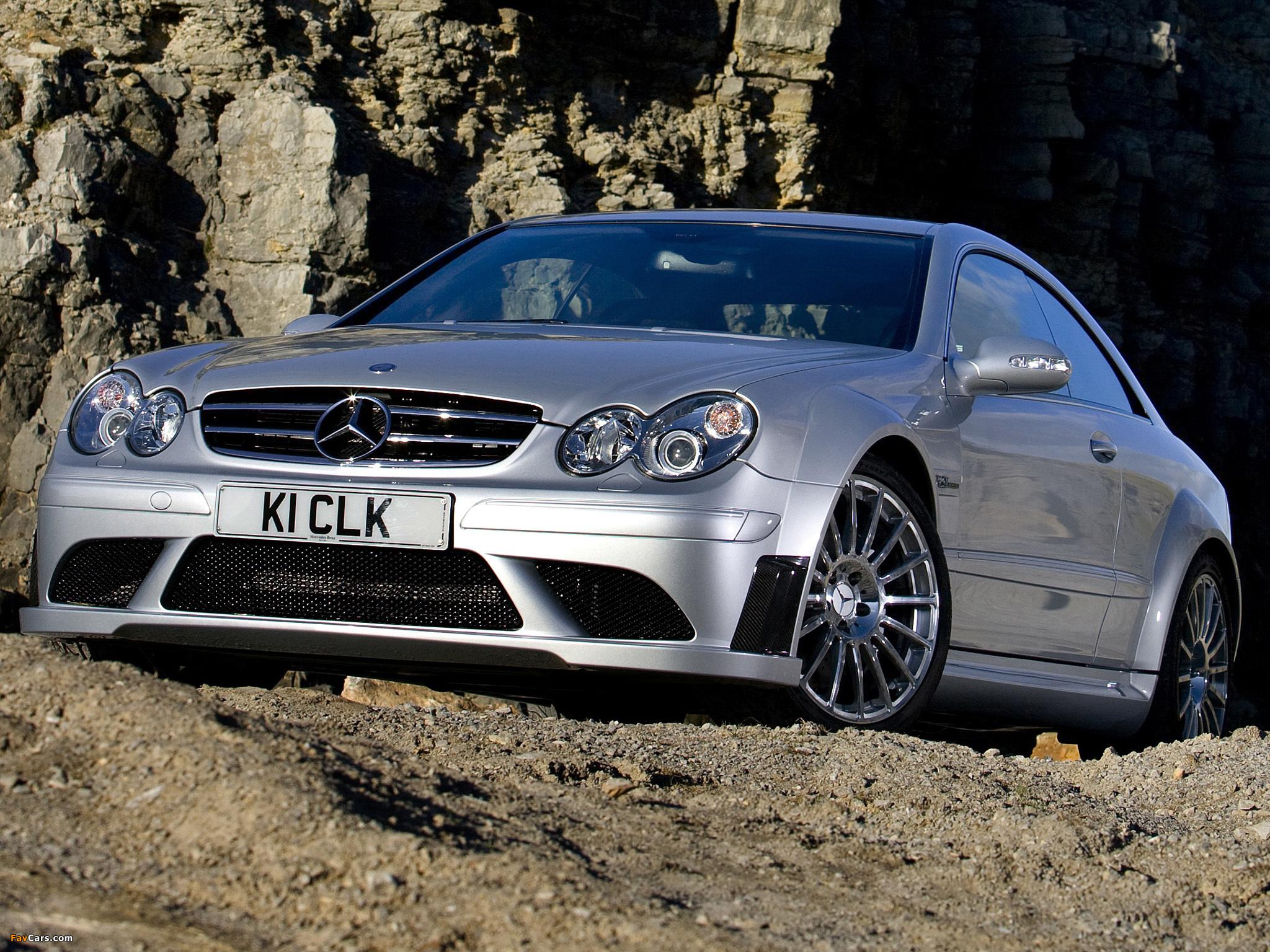 Images of Mercedes-Benz CLK 63 AMG Black Series UK-spec (C209) 2007–09 (2048 x 1536)