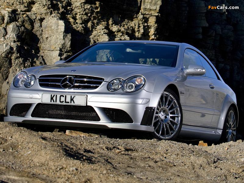 Images of Mercedes-Benz CLK 63 AMG Black Series UK-spec (C209) 2007–09 (800 x 600)