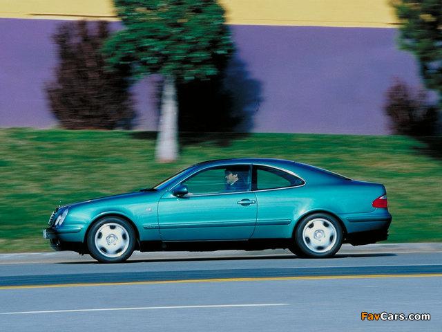 Mercedes-Benz CLK-Klasse (C208) 1997–2002 images (640 x 480)
