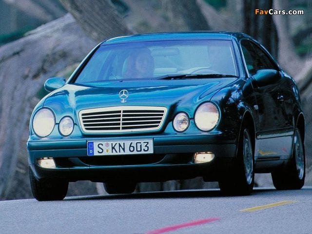 Mercedes-Benz CLK 320 (C208) 1997–2002 images (640 x 480)