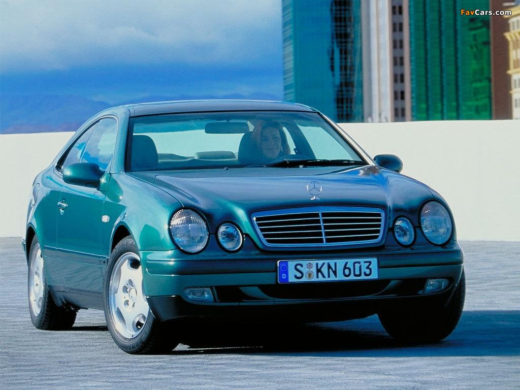 Mercedes-Benz CLK 320 (C208) 1997–2002 photos (1024 x 768)