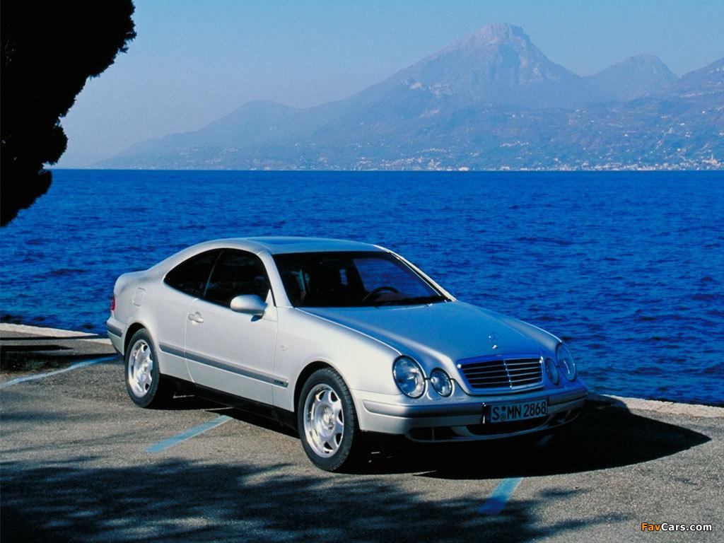 Mercedes-Benz CLK-Klasse (C208) 1997–2002 pictures (1024 x 768)