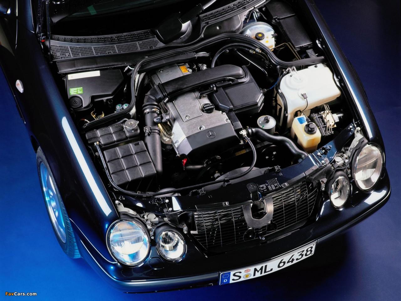 Mercedes-Benz CLK 200 (C208) 1997–2002 pictures (1280 x 960)