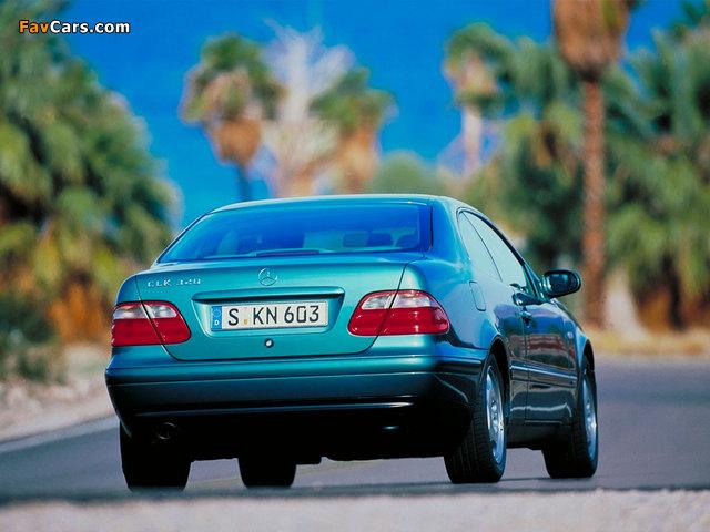 Mercedes-Benz CLK 320 (C208) 1997–2002 pictures (640 x 480)