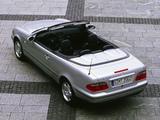 Mercedes-Benz CLK 320 Cabrio (A208) 1998–2002 images
