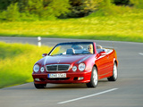Mercedes-Benz CLK-Klasse Cabrio (A208) 1998–2002 photos