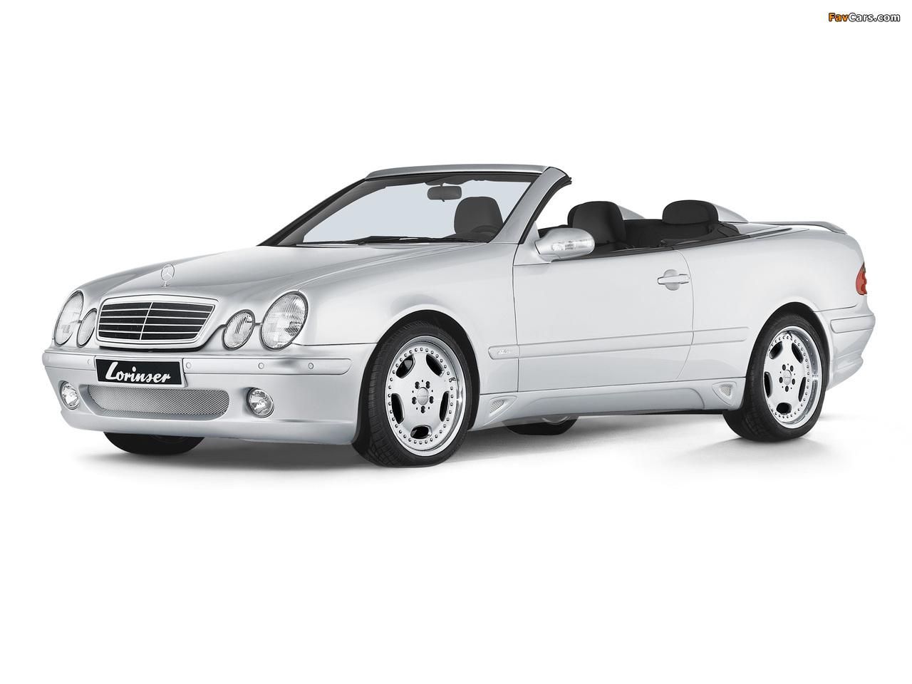Lorinser Mercedes-Benz CLK-Klasse Cabrio (A208) 1998–2002 photos (1280 x 960)