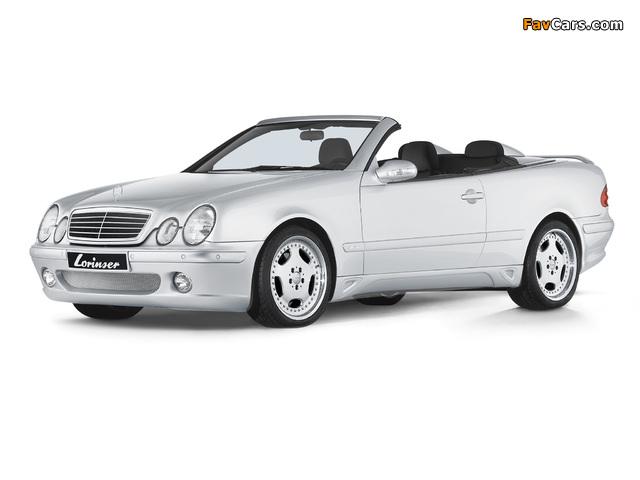 Lorinser Mercedes-Benz CLK-Klasse Cabrio (A208) 1998–2002 photos (640 x 480)