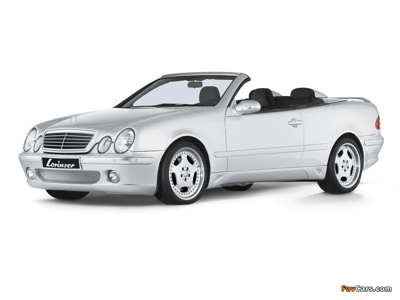 Lorinser Mercedes-Benz CLK-Klasse Cabrio (A208) 1998–2002 photos (800 x 600)