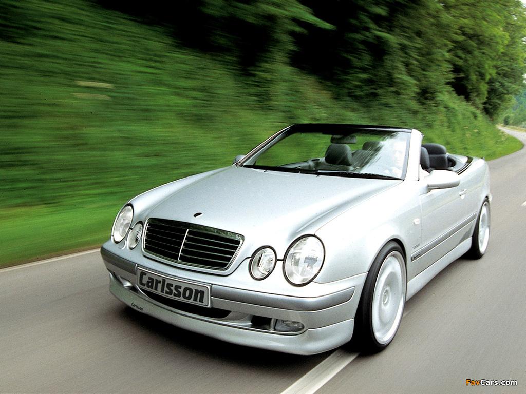 Carlsson Mercedes-Benz CLK-Klasse Cabrio (A208) 1998–2002 photos (1024 x 768)