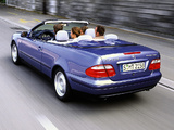 Mercedes-Benz CLK 230 Kompressor Cabrio (A208) 1998–2002 wallpapers