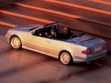 Mercedes-Benz CLK 55 AMG Cabrio (A208) 2000–02 photos