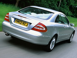 Mercedes-Benz CLK 240 UK-spec (C209) 2002–05 images