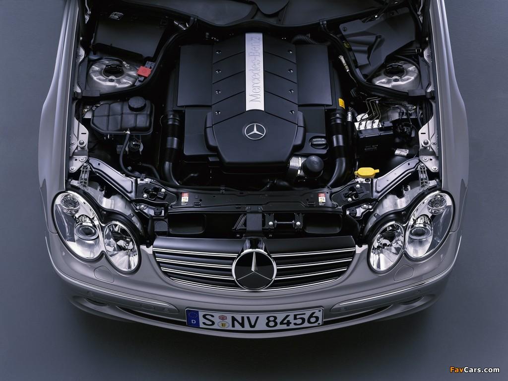 Mercedes-Benz CLK 500 (C209) 2002–05 images (1024 x 768)