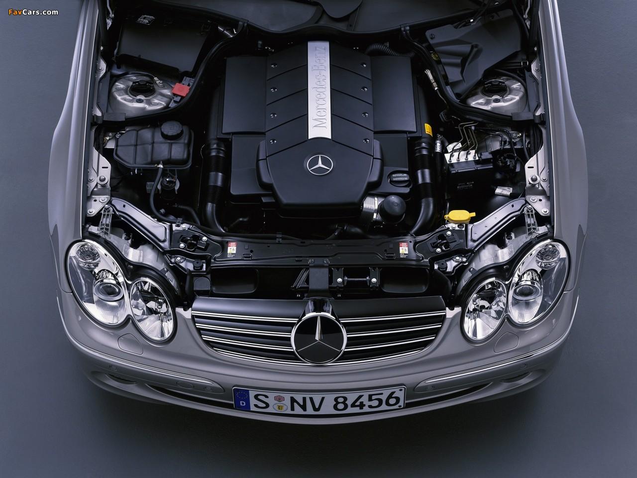 Mercedes-Benz CLK 500 (C209) 2002–05 images (1280 x 960)