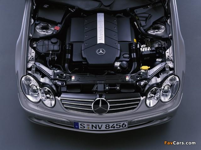 Mercedes-Benz CLK 500 (C209) 2002–05 images (640 x 480)