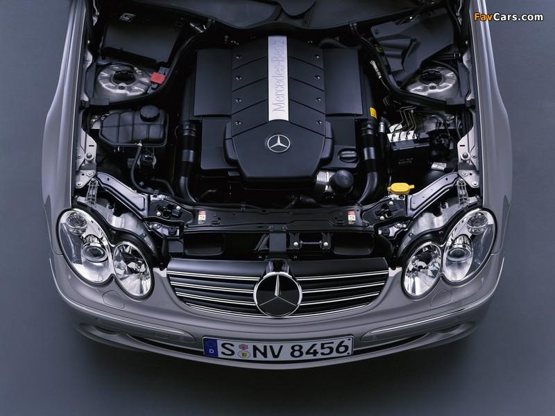 Mercedes-Benz CLK 500 (C209) 2002–05 images (800 x 600)