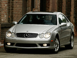 Mercedes-Benz CLK 55 AMG US-spec (C209) 2002–05 photos
