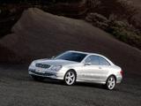 Mercedes-Benz CLK 500 (C209) 2002–05 pictures