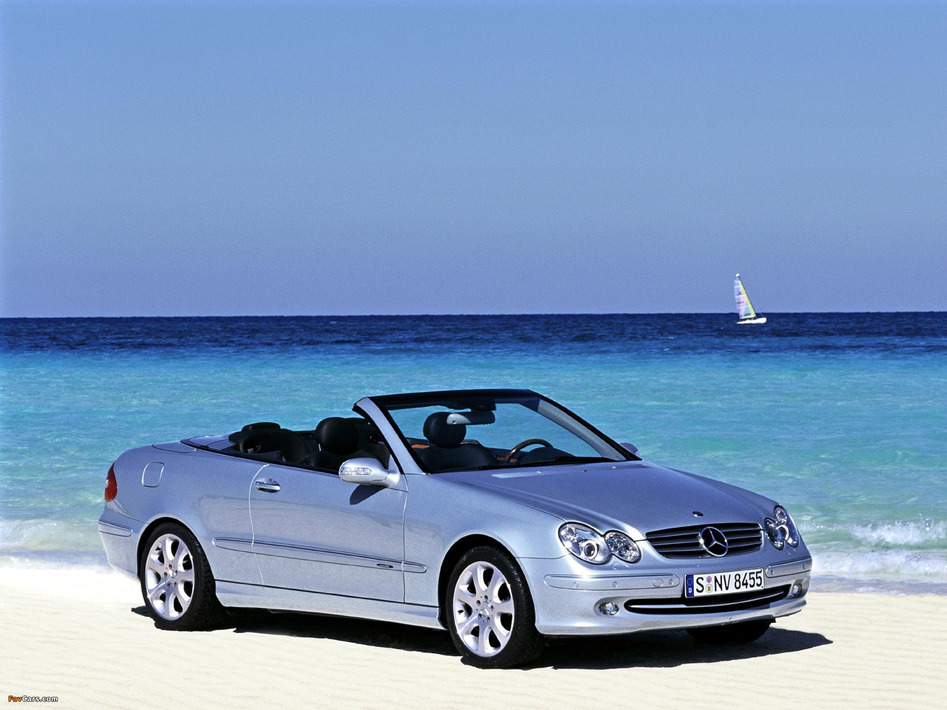 Mercedes-Benz CLK 240 Cabrio (A209) 2003–05 images (1920 x 1440)