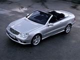Mercedes-Benz CLK 55 AMG Cabrio (A209) 2003–05 images