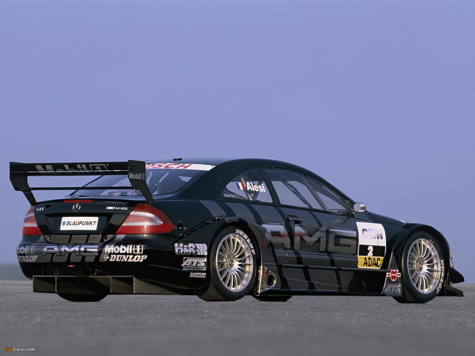 Mercedes-Benz CLK 55 AMG DTM (C209) 2003 photos (1600 x 1200)