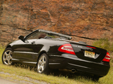 Mercedes-Benz CLK 500 Convertible US-spec (A209) 2003–05 photos