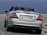 Mercedes-Benz CLK 55 AMG Cabrio (A209) 2003–05 photos