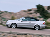 Mercedes-Benz CLK 55 AMG Cabrio (A209) 2003–05 photos
