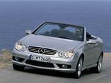 Mercedes-Benz CLK 55 AMG Cabrio (A209) 2003–05 pictures