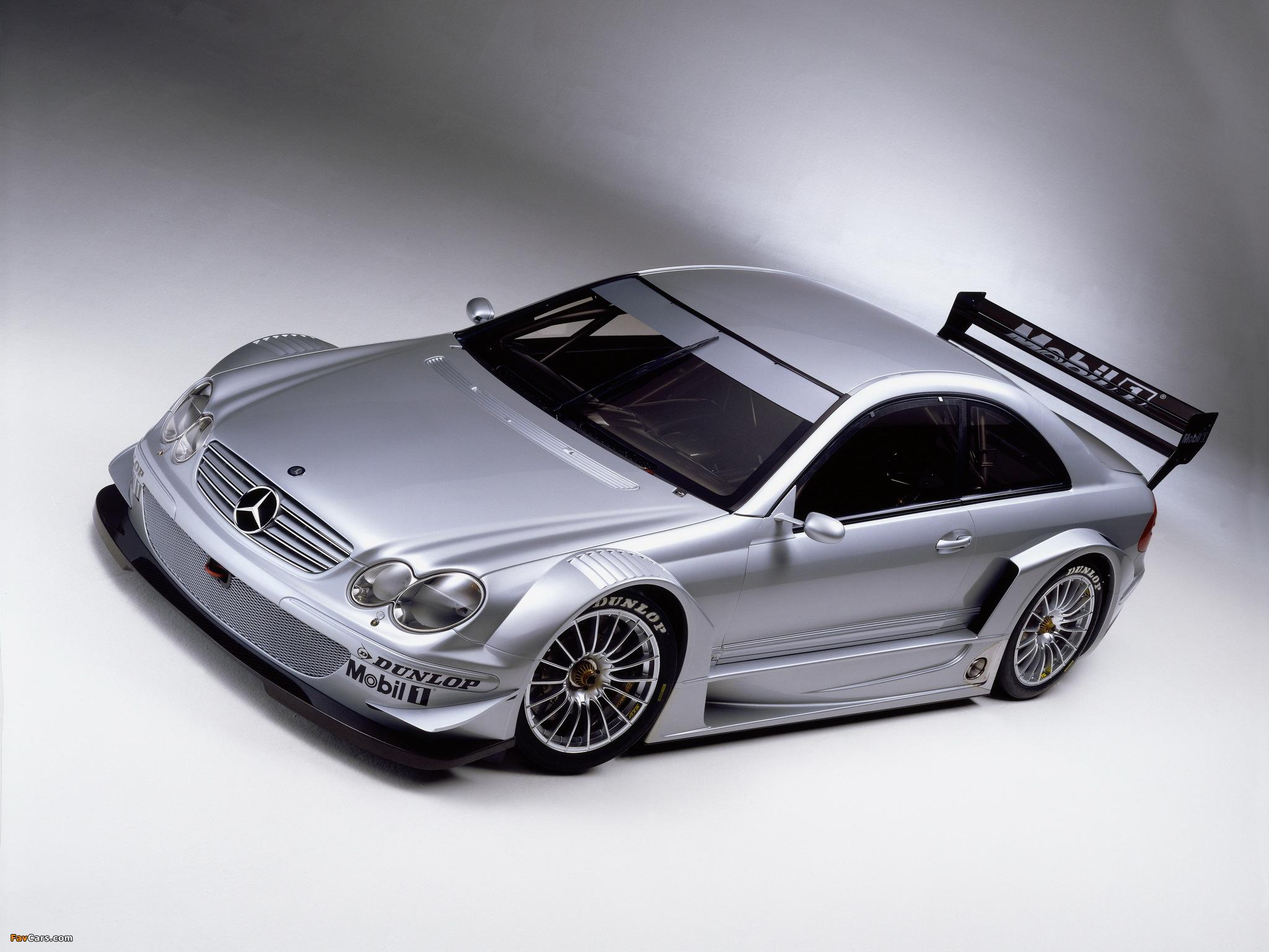 Mercedes-Benz CLK 55 AMG DTM (C209) 2003 pictures (2048 x 1536)