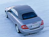 Mercedes-Benz CLK 500 Cabrio (A209) 2003–05 pictures