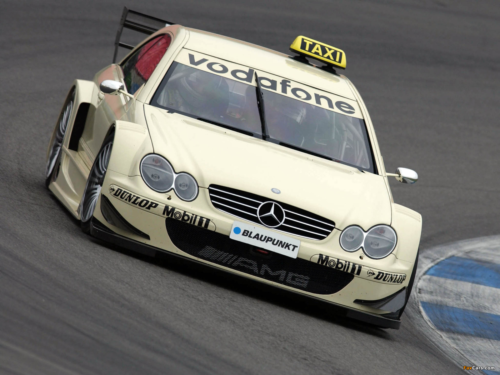 Mercedes-Benz CLK 55 AMG DTM (C209) 2003 wallpapers (1600 x 1200)