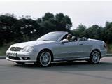 Mercedes-Benz CLK 55 AMG Cabrio (A209) 2003–05 wallpapers