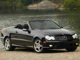 Mercedes-Benz CLK 500 Convertible US-spec (A209) 2003–05 wallpapers