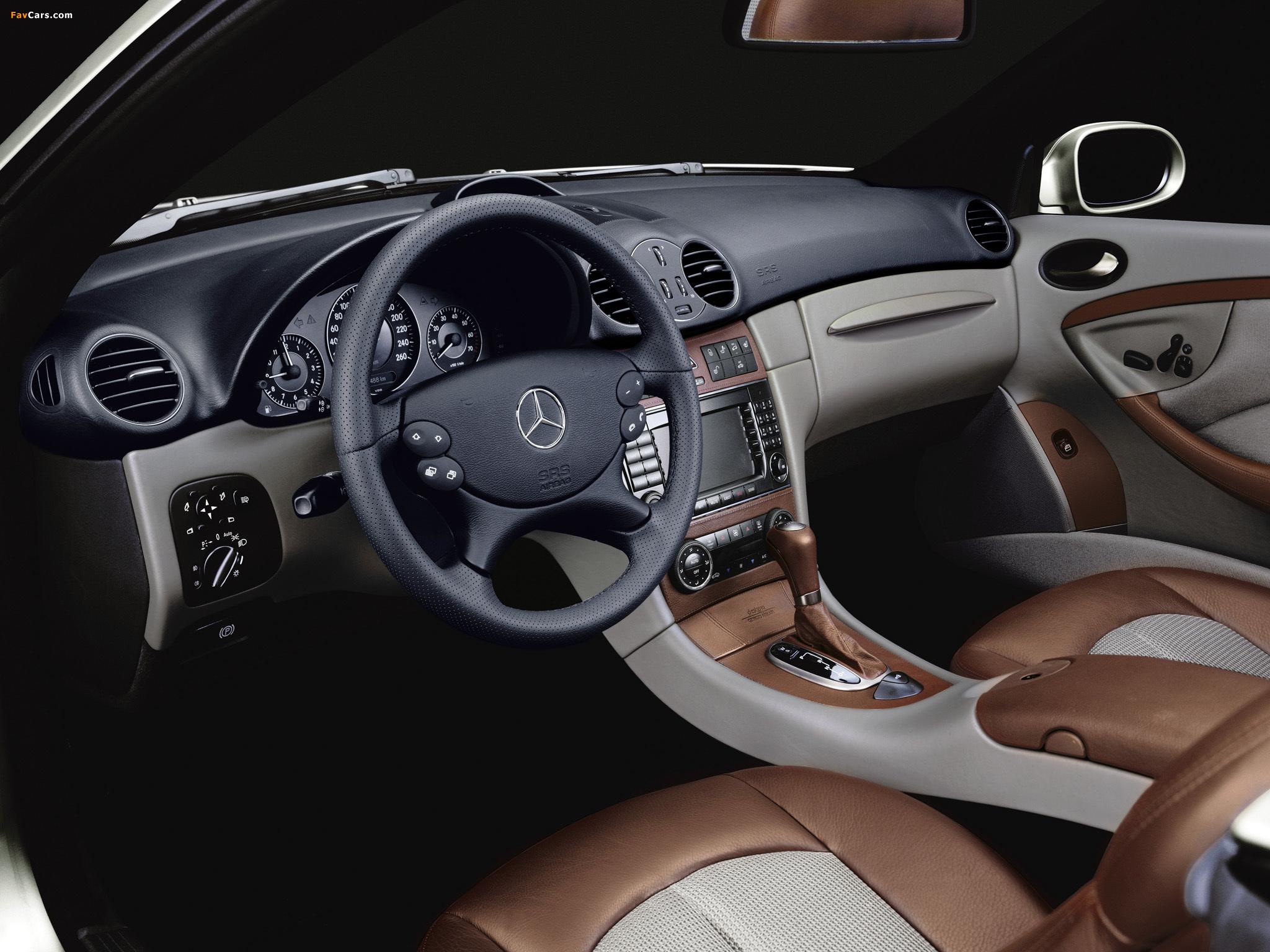 Mercedes-Benz CLK 500 Cabrio by Giorgio Armani (A209) 2004 images (2048 x 1536)