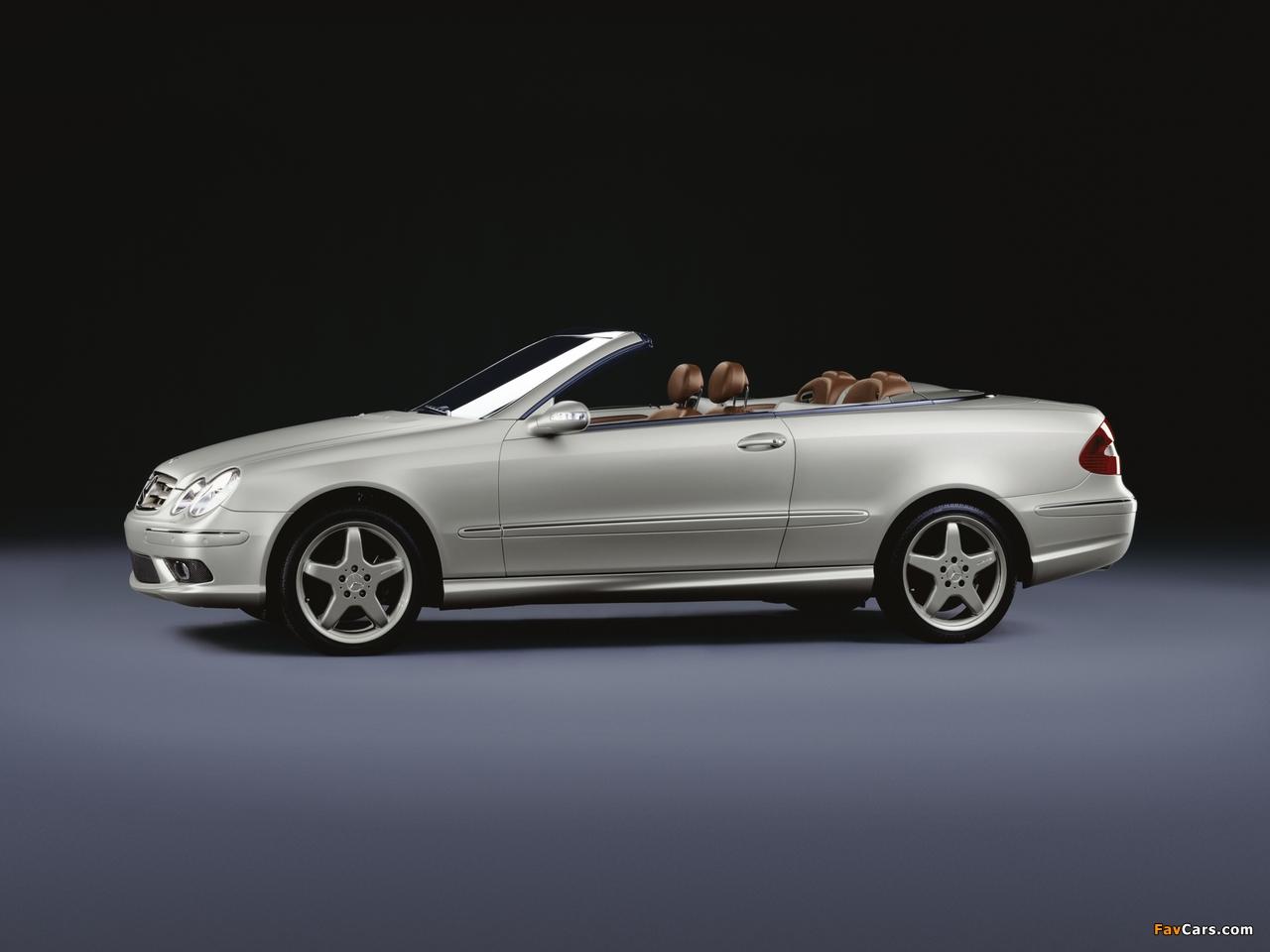 Mercedes-Benz CLK 500 Cabrio by Giorgio Armani (A209) 2004 images (1280 x 960)